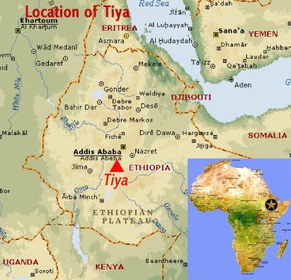 Megalithic Stones Of Tiya Ethiopia Africa Sola Rey