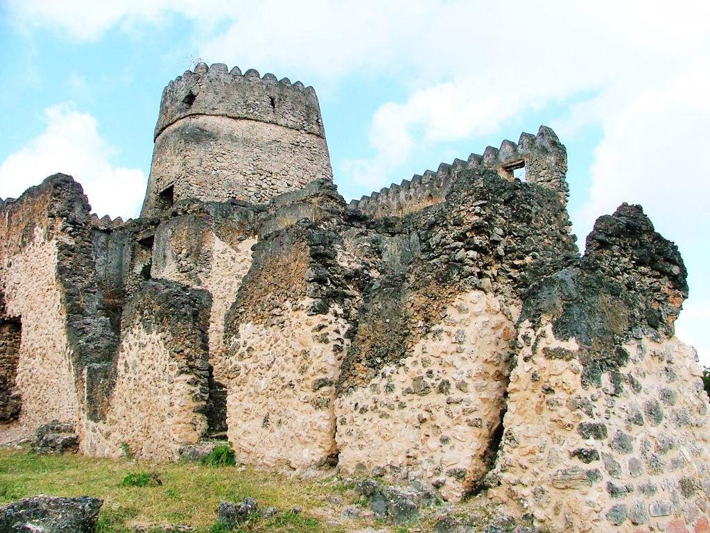 kilwa ruins tanzania 0
