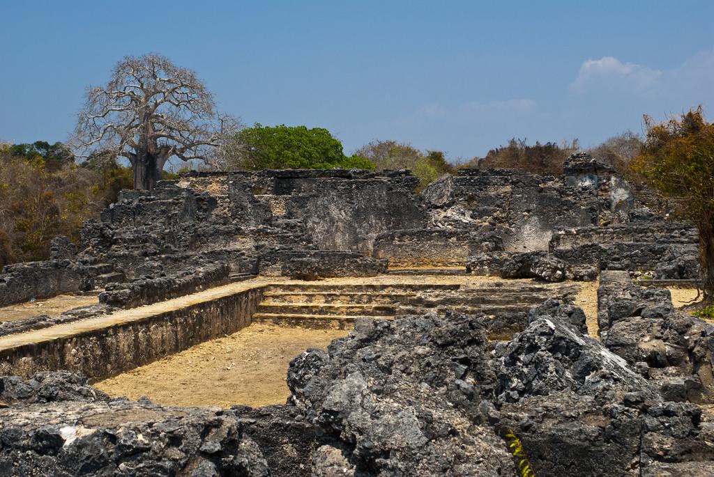 kilwa ruins tanzania 11