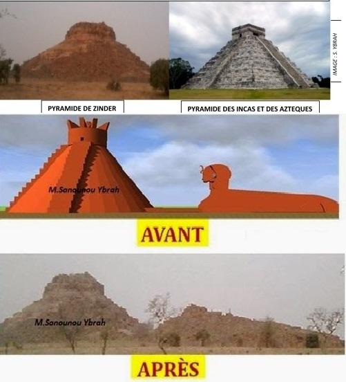 2 Pyramids & Sphinx Found in Zinder, Niger, Africa