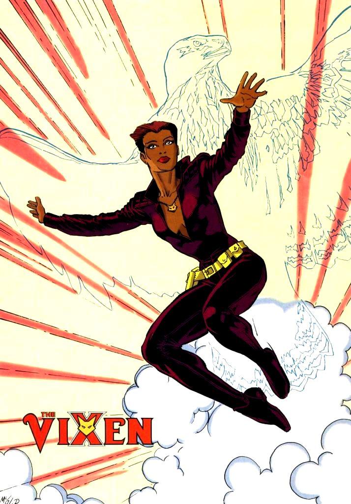 D.C. Comic's Vixen 05