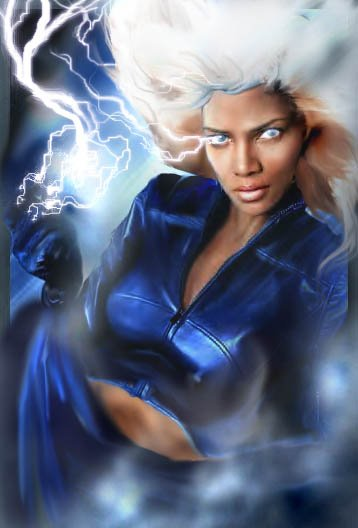 Female Superhero Storm 05