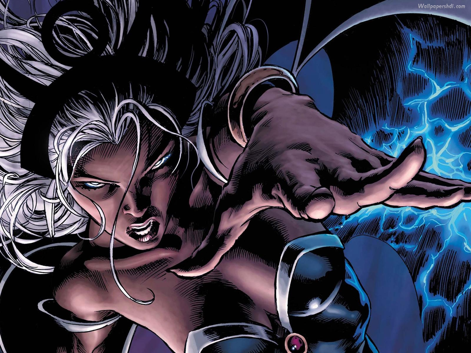 Female Superhero Storm 08