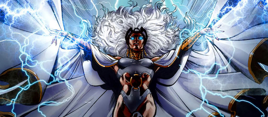 Female Superhero Storm 09