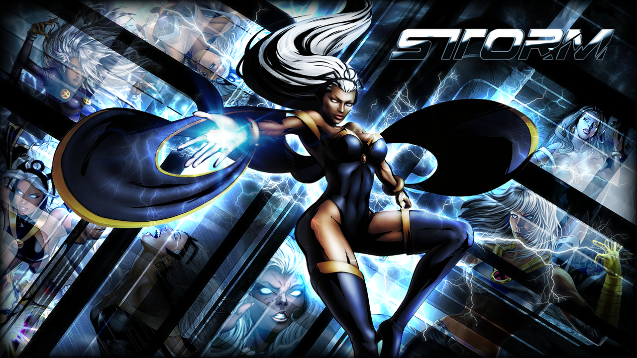 Female Superhero Storm 12