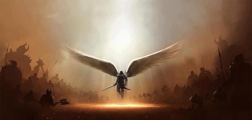 200 angels on mount hermon 09