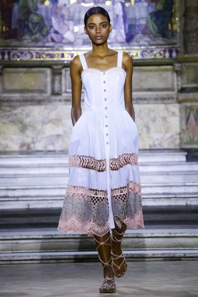 Temperley London Fashion Show, Ready to Wear Collection Spring Summer 2016 in London