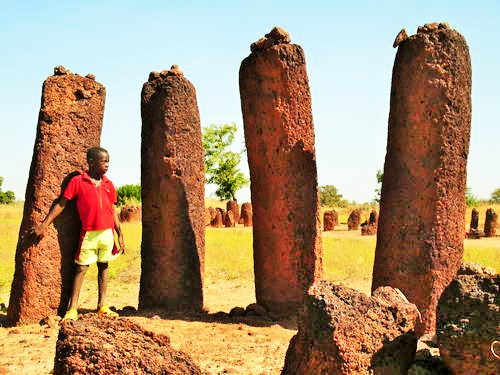 3rd Century BC Stone Circles Of Gambia and Senegal, Africa