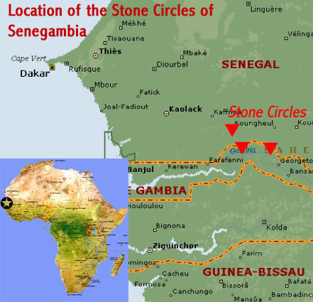Circles Of Gambia and Senegal, Africa