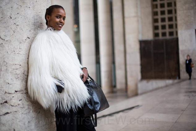 Paris Fashion Week Street Style - March 10 2015 - RTW Fall Winter 2015