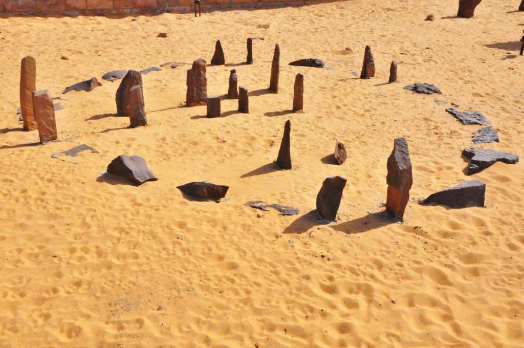 Prehistoric Calendar Circle Of Nabta Playa Astronomy, Egypt, Africa