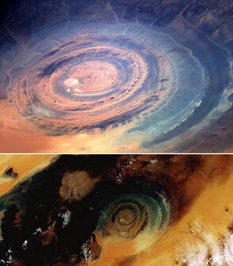 The Blue Eye Of The Sahara 01
