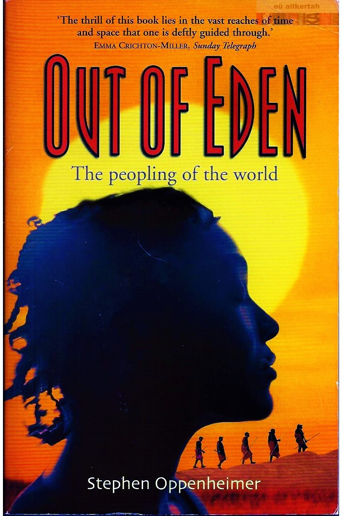 Book: Out Of Eden