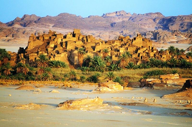 Ancient city of Djado 05