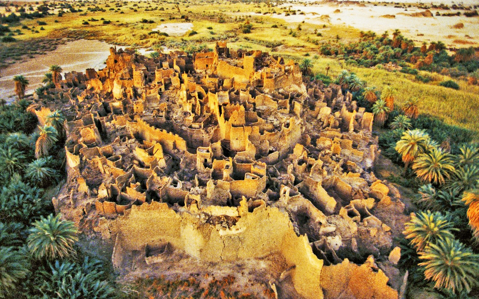 Ancient City of Djado In Niger, Africa