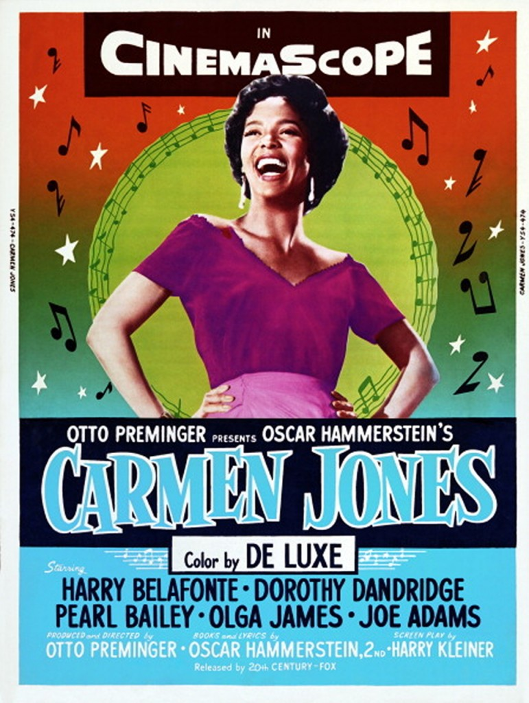 Actress & Singer: Dorothy Dandridge As Carmen Jones
