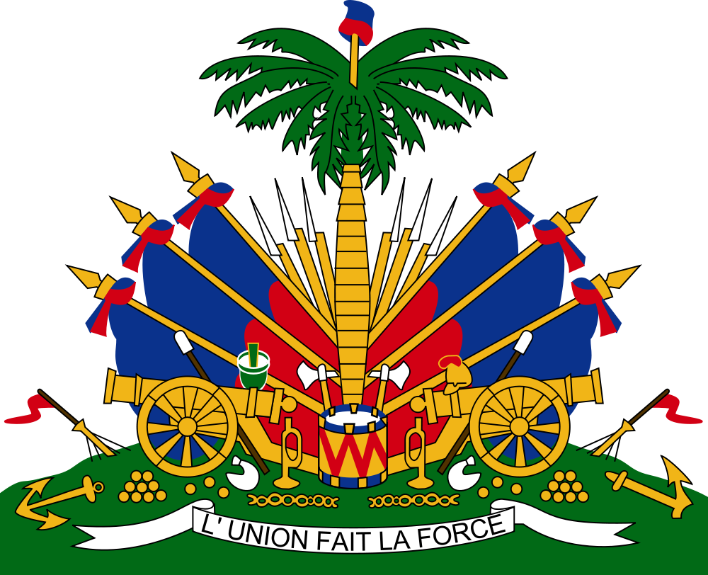 Haitian coat of arms