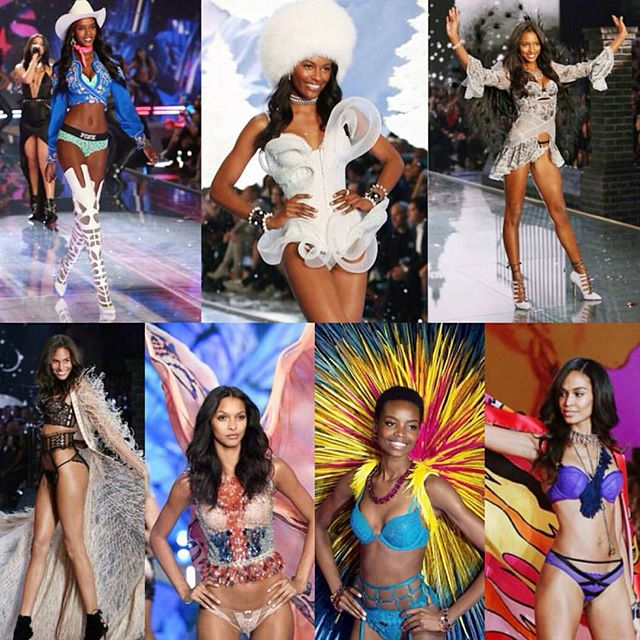 Making HISTORY – DIVERSITY at Victorias Secret Fashion Show!