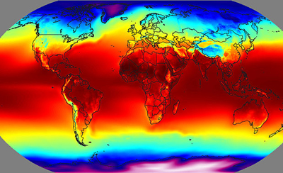 Solar Energy Map Of The World