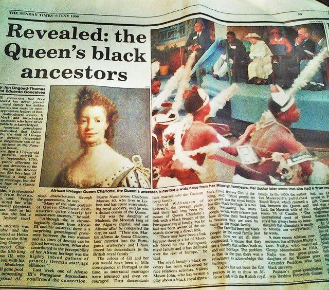 Queen Charlotte's Mysterious Origins