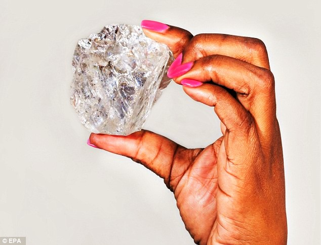 404 carat diamond unearthed in Angola, Africa