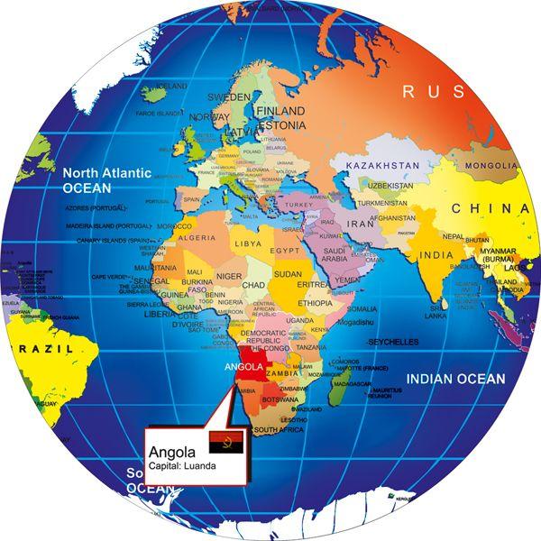 Angola wprld map 10