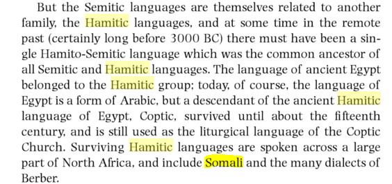 hamitic somali language