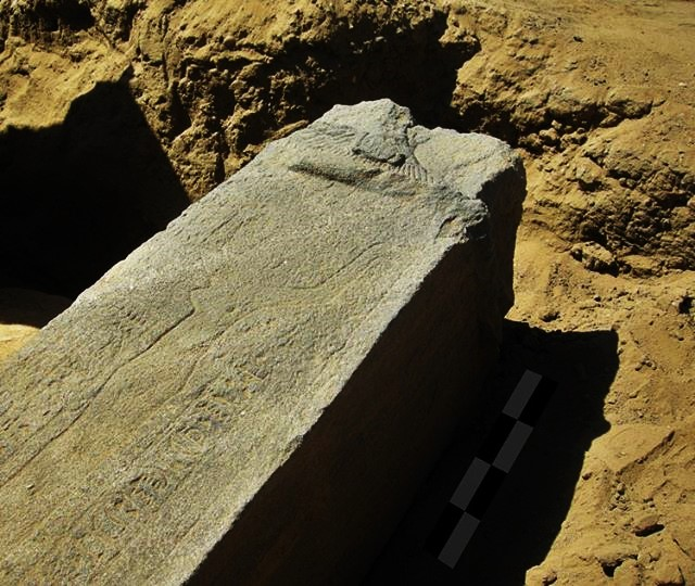 Remains of a Nubian temple in Sudan thought to be around 2000 years old