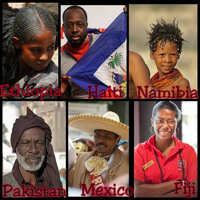 A View Of Different Africans & African Descendants Around The World