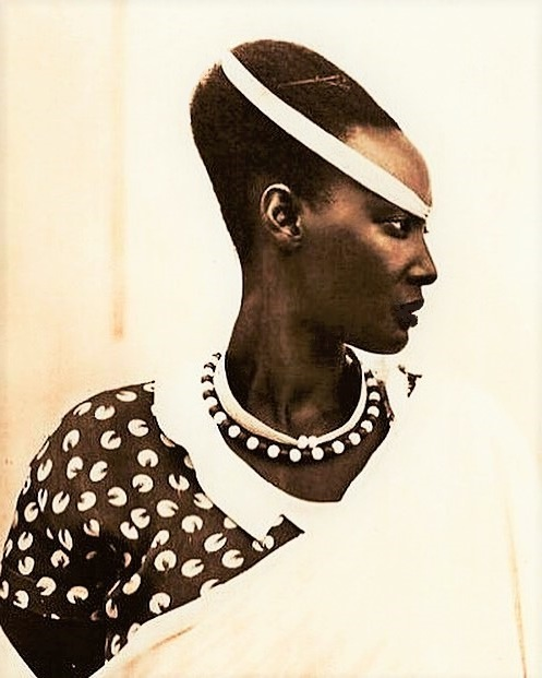 Princess Emma Bakayishonga of Rwanda & the $2.4 million Watussi Woman artwork