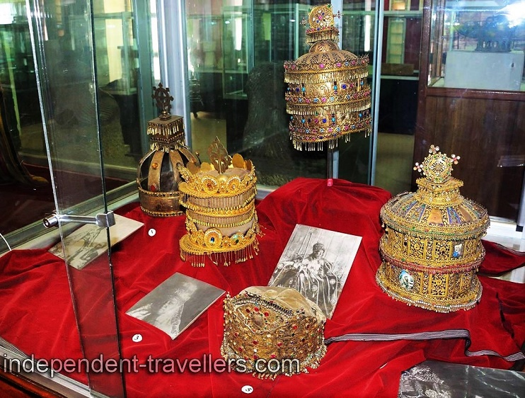 National Museum of Ethiopia crowns