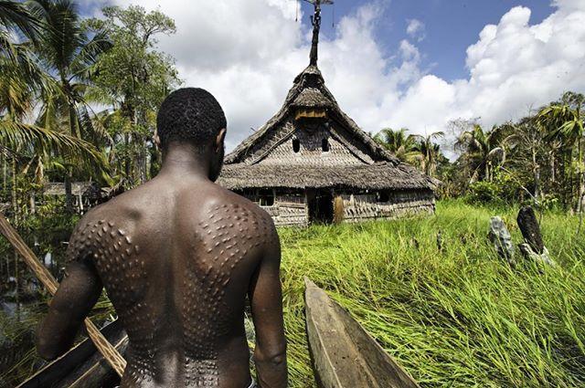 Papua New Guinea scarification