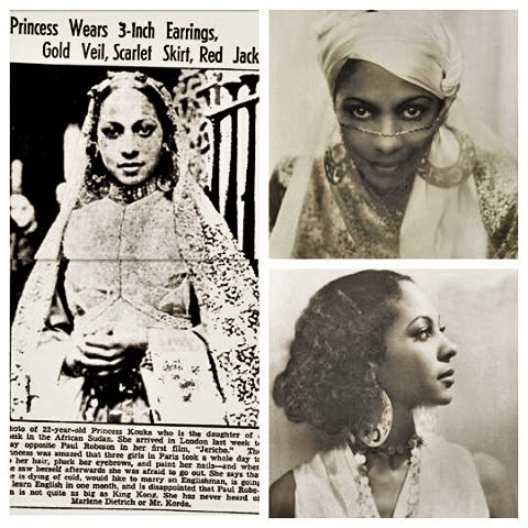 Princess Kouka daughter of a sheik in the African Sudan
