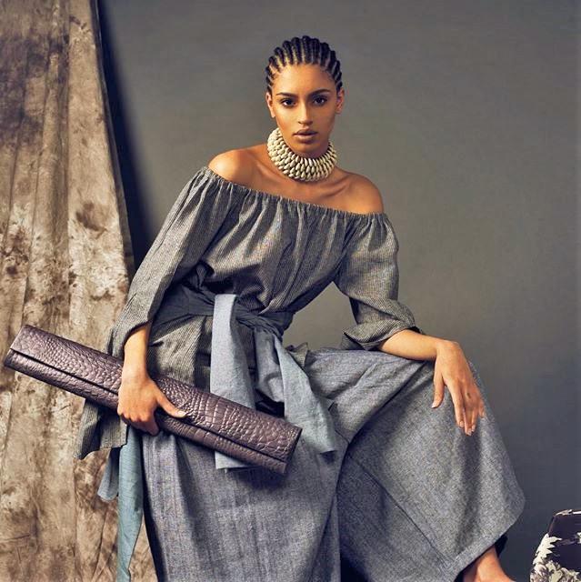 Model: Karen Joigny