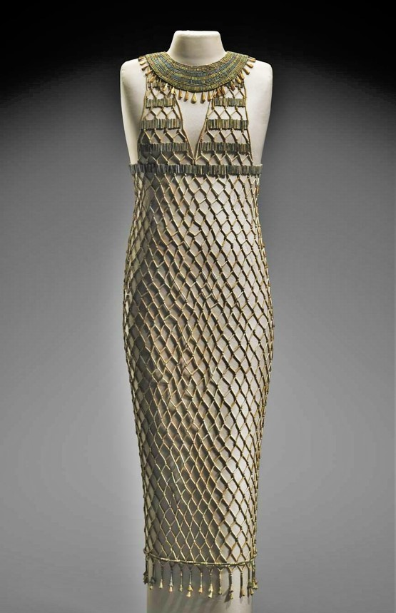 4,500 egyptian beaded dress 0