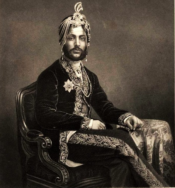 """an analysis of the life of maharaja dalip sigh Dalip was the son of ranjit singh, the powerful """"lion of lahore,"""" who controlled the punjab for nearly 50 years after ranjit's death (1839), assassinations and struggles for power prevailed, but the boy's mother, rani jindan, finally succeeded in having him proclaimed maharaja in 1843."""