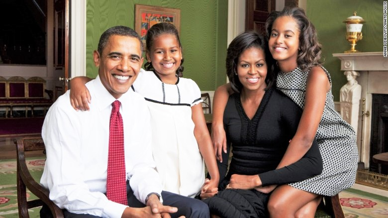President of the United States: Barack Obama with Family
