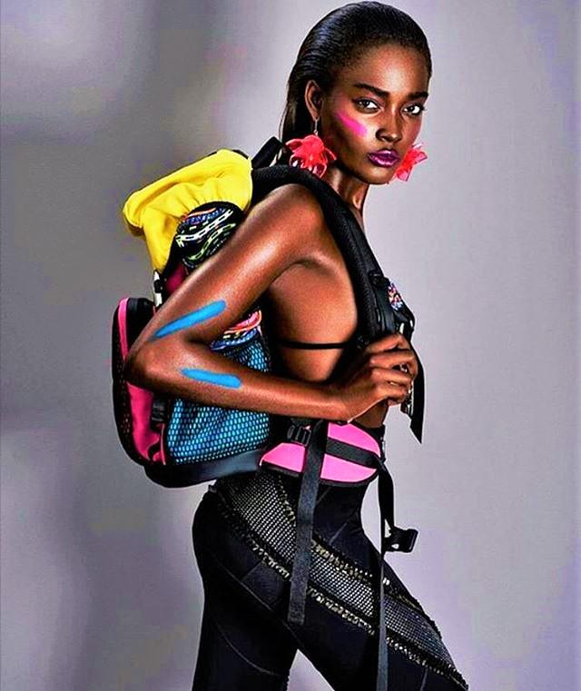 Model: Francine James
