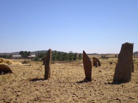 Gudit stela field, Axum, Ethiopia