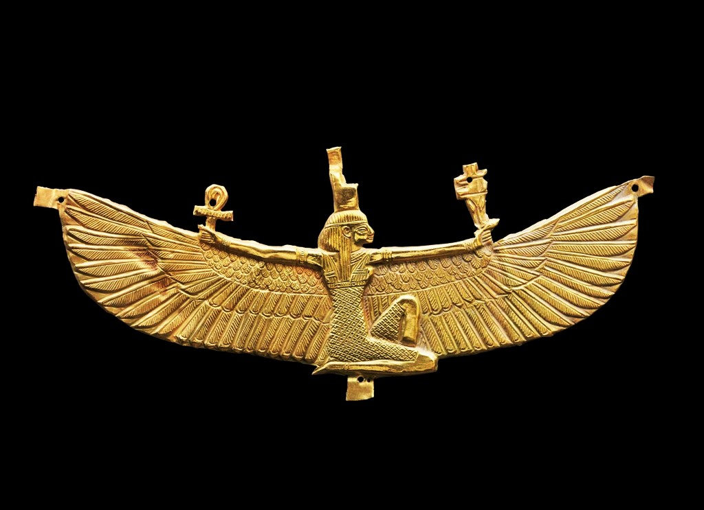 Nubian Winged Isis found in Nuri, Sudan (Nubia)