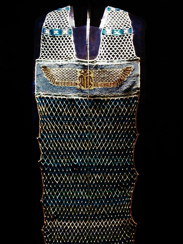 Another Beautiful Ancient Egyptian Beaded Dress