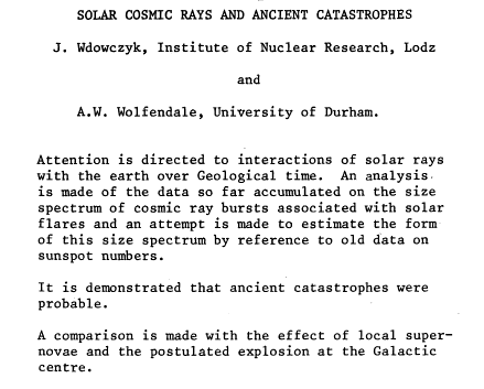 Theorizing Ancient Solar Flare or Sola Rays that possibly scorched our Skin & Hair?