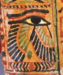 winged eye egyptian eye