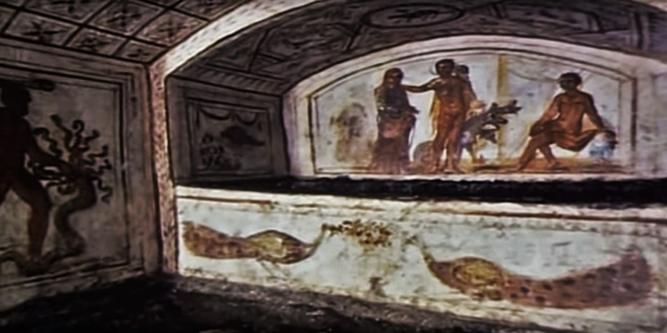 Rome catacombs 02