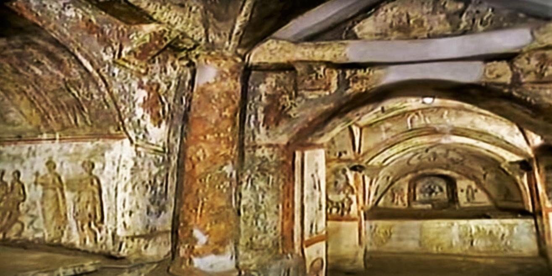 Rome catacombs 10