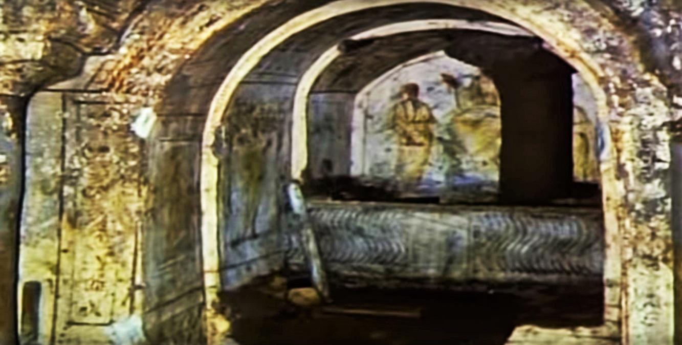 Rome catacombs 16