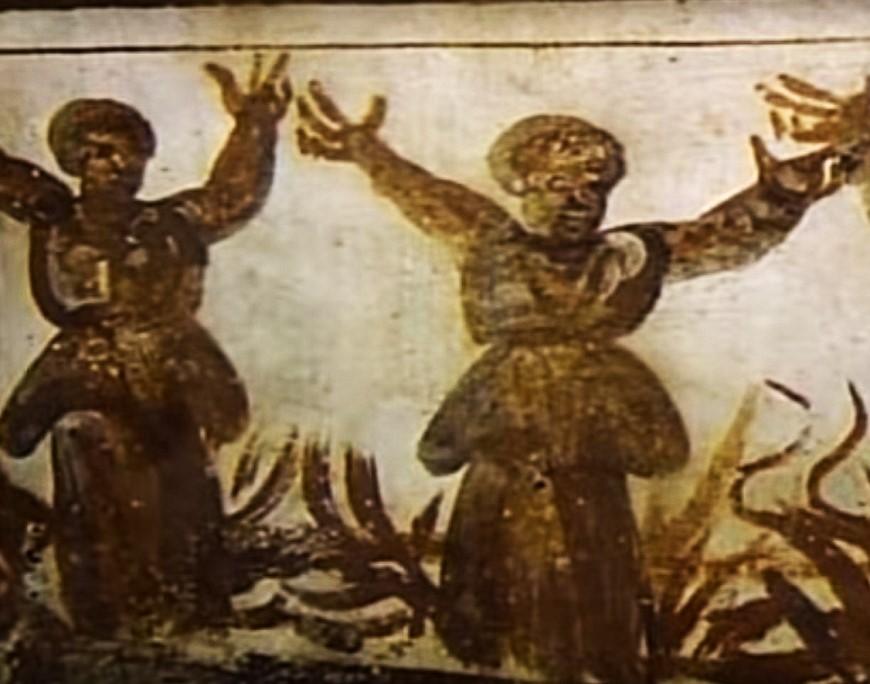 Rome catacombs 18