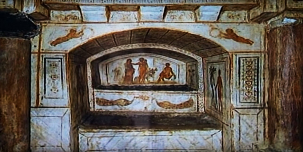 Rome catacombs 21