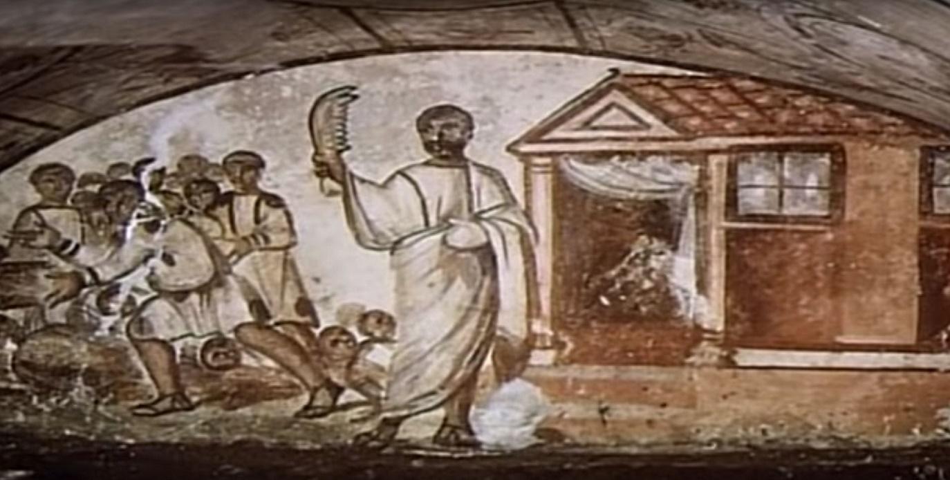 Rome catacombs 24