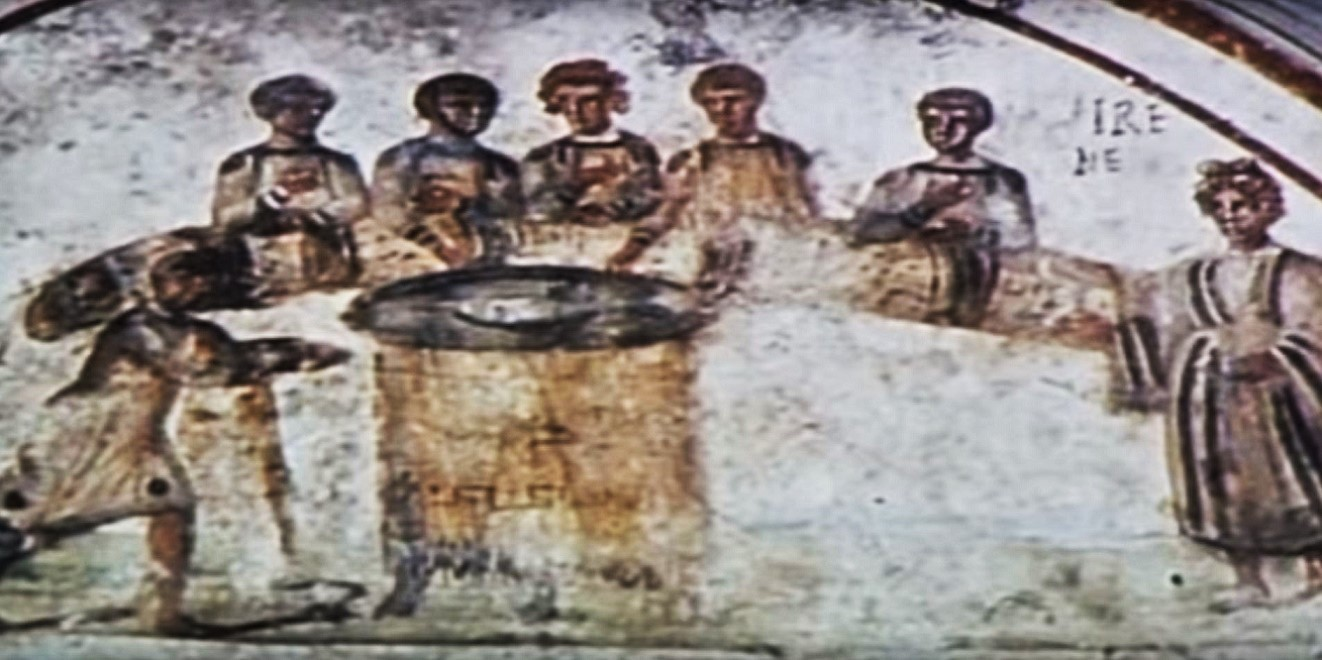 Rome catacombs 30